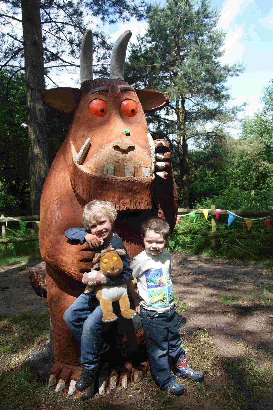 Gruffalo due at Grizedale Forest