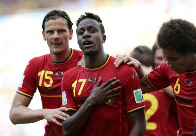 Belgium leave it late to defeat Russia