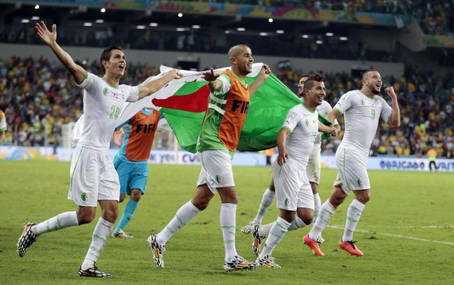 Algeria make history with Russia draw