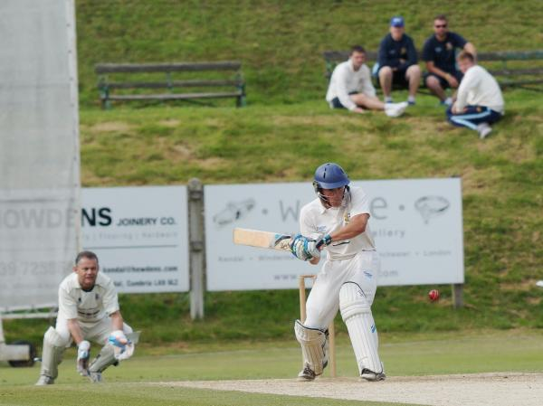 Skipper Marc Brown notched third half century in four Northern League outings as Netherfield claim five-wicket win against At. Annes