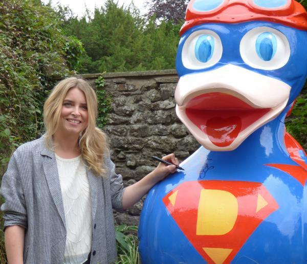 Emma Atkins, better known as Emmerdale's Charity Dingle