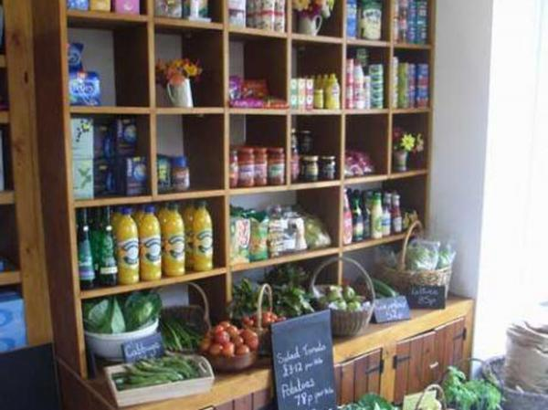 STOCKED UP: Witherslack community shop