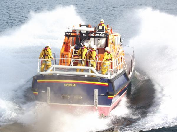 Fishing boat towed to safety after engine failure