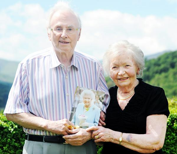 Still in love: Ron and Nora Holland, of Clappersgate