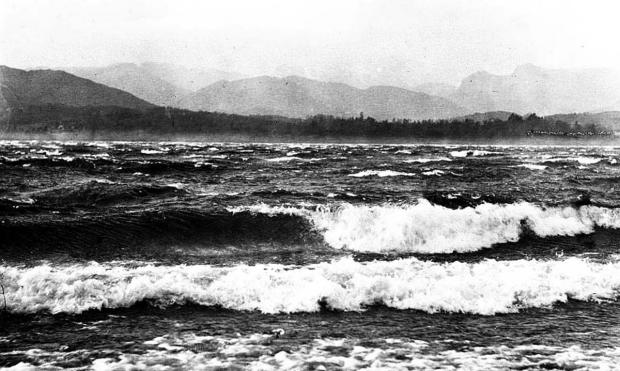 PICTURE FROM THE PAST: A major storm on Windermere on December 22, 1894
