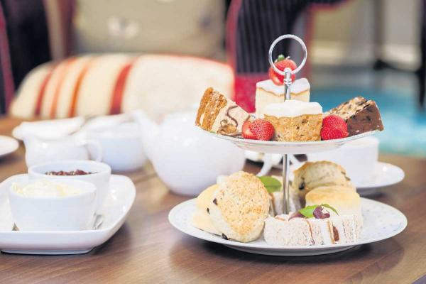 All the ingredients for the perfect afternoon tea