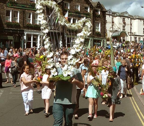 Hundreds turn out to mark Ambleside Rushbearing