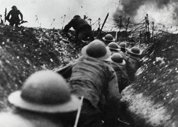 The ppening day of The Somme