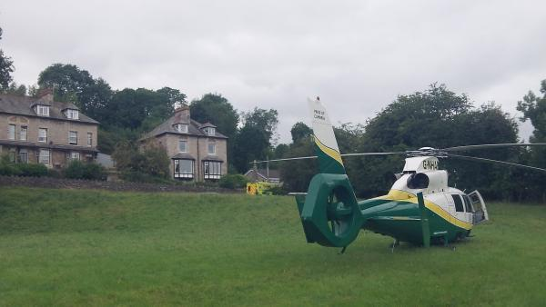 The Westmorland Gazette: Toddler scalded at home flown to hospital
