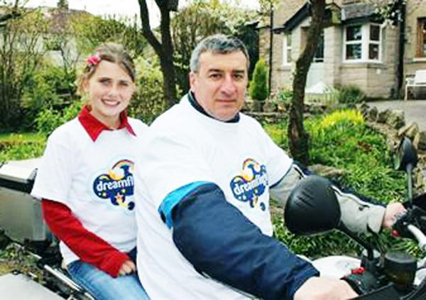 Jose Goncalves who raised cash for the Dreamflight charity which helped daughter Ellie