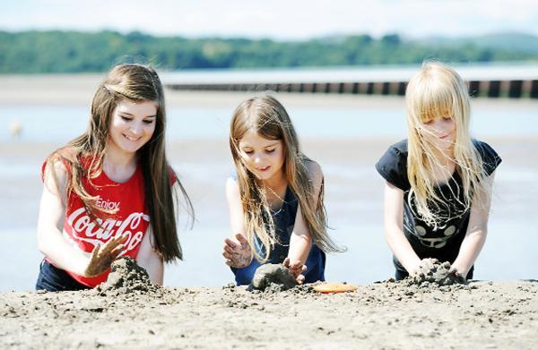 It's fun in the sun across Cumbria as the weather soars