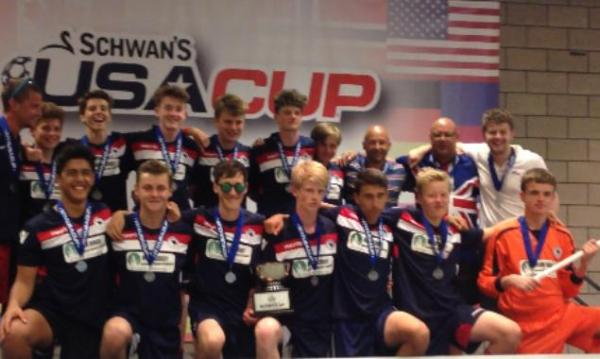 Kendal youngsters return from USA tournament with heads held high
