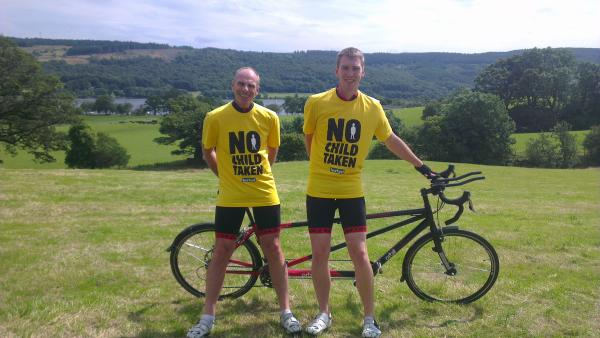 Father and son to compete in epic cycle race around Ireland