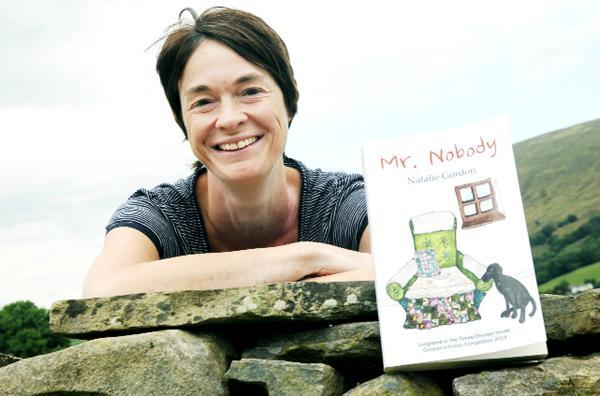 SHE'S SOMEBODY: Natalie's debut children's novel described as 'bold and funny' by top publisher