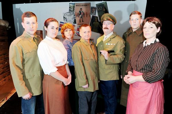 Some of The Accrington Pals cast