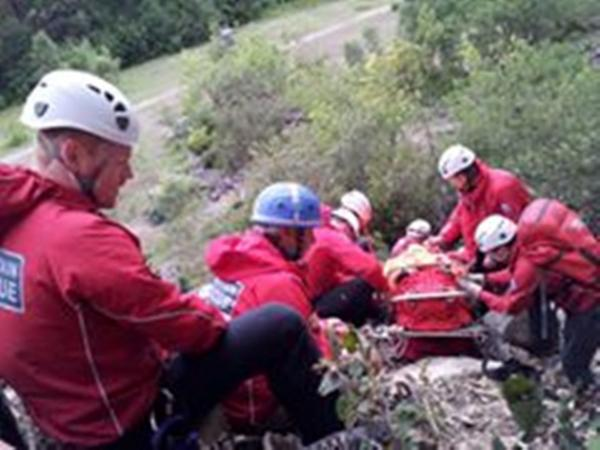 Injured climber rescued after 50ft fall at Trowbarrow Quarry