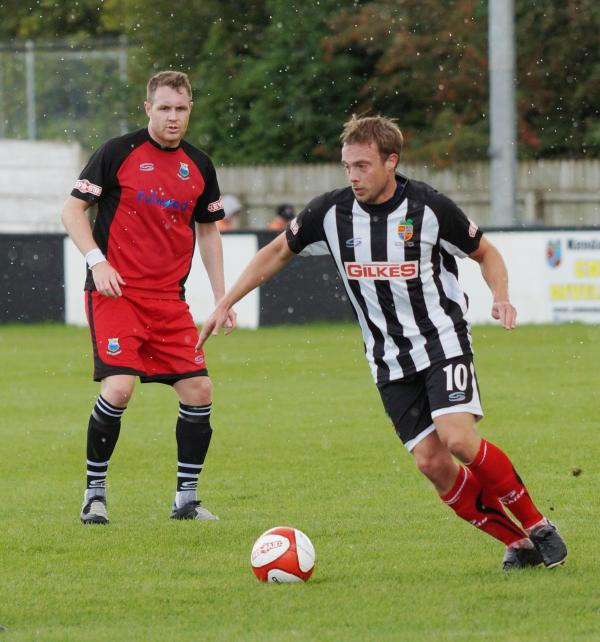 Mark Jackson opened the scoring for Kendal Town