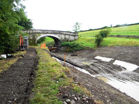 Work continues to restore the Lancaster Canal