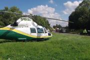 A Great North Air Ambulance similar to that used in this rescue