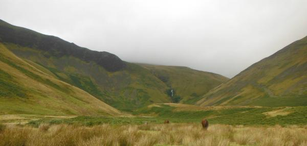 Cautley Spout waterfall - picture by Kendal Mountain Search and Rescue Team