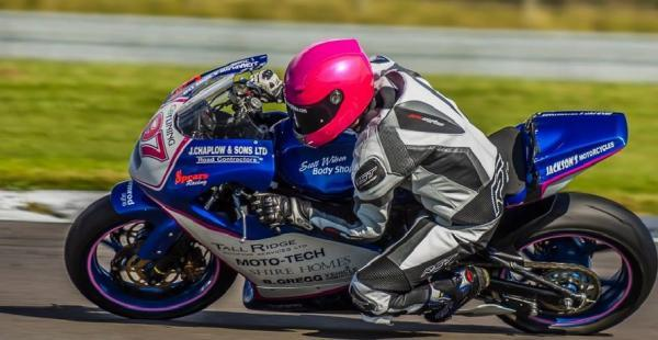 Kendal racer Bradley Perie back in Thundersport GB Supertwin Championship hunt