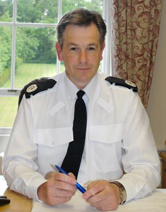 Cumbria's new Chief Constable Jerry Graham