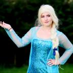 The Westmorland Gazette: Robyn Ashcroft as Disney character Queen Elsa from popular children's film Frozen