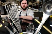 AT WORK: Head chef Robert Stacey
