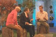 Mike Dilger, Alan Titchmarsh and Richard Robinson from Lake District Wildlife Park