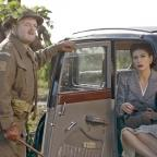 The Westmorland Gazette: Captain Mainwaring (Toby Jones) and Rose Winters (Catherine Zeta-Jones) in Dad's Army (Universal Pictures/PA)