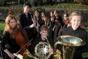 Westmorland Youth Orchestra prepare for their final concert of the year, which will be held at The Lakes School. (12126178)
