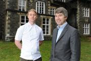 FOREST SIDE HOTEL REVAMP.  Pictured is Andrew Wildsmith (right) who has recently taken over the Forest Side Hotel, Grasmere, and is currently renovating and revamping it.  Also pictured is Kevin Tickle who will be Head Chef. (12651285)