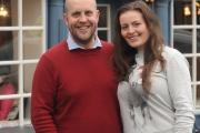 The crossing point cafe opens in Kirkby Lonsdale. Pictured are owners John Strange and Renata Vietoriszova  (14165408)