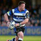 The Westmorland Gazette: Bath prop David Wilson, pictured, is England's latest injury concern ahead of next weekend's Six Nations opener in Wales