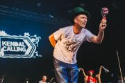 LEGEND: Bez performing at Kendal Calling