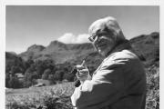 WALKER: Alfred Wainwright photographed by his friend Kenneth Shepherd.