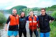 Cumbrian brothers set sights on world first to swim the 145km-long River Eden