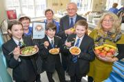 HEALTHY: Penrith pupils love their new menu