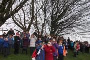 Pupils at Over Kellet watch eclipse