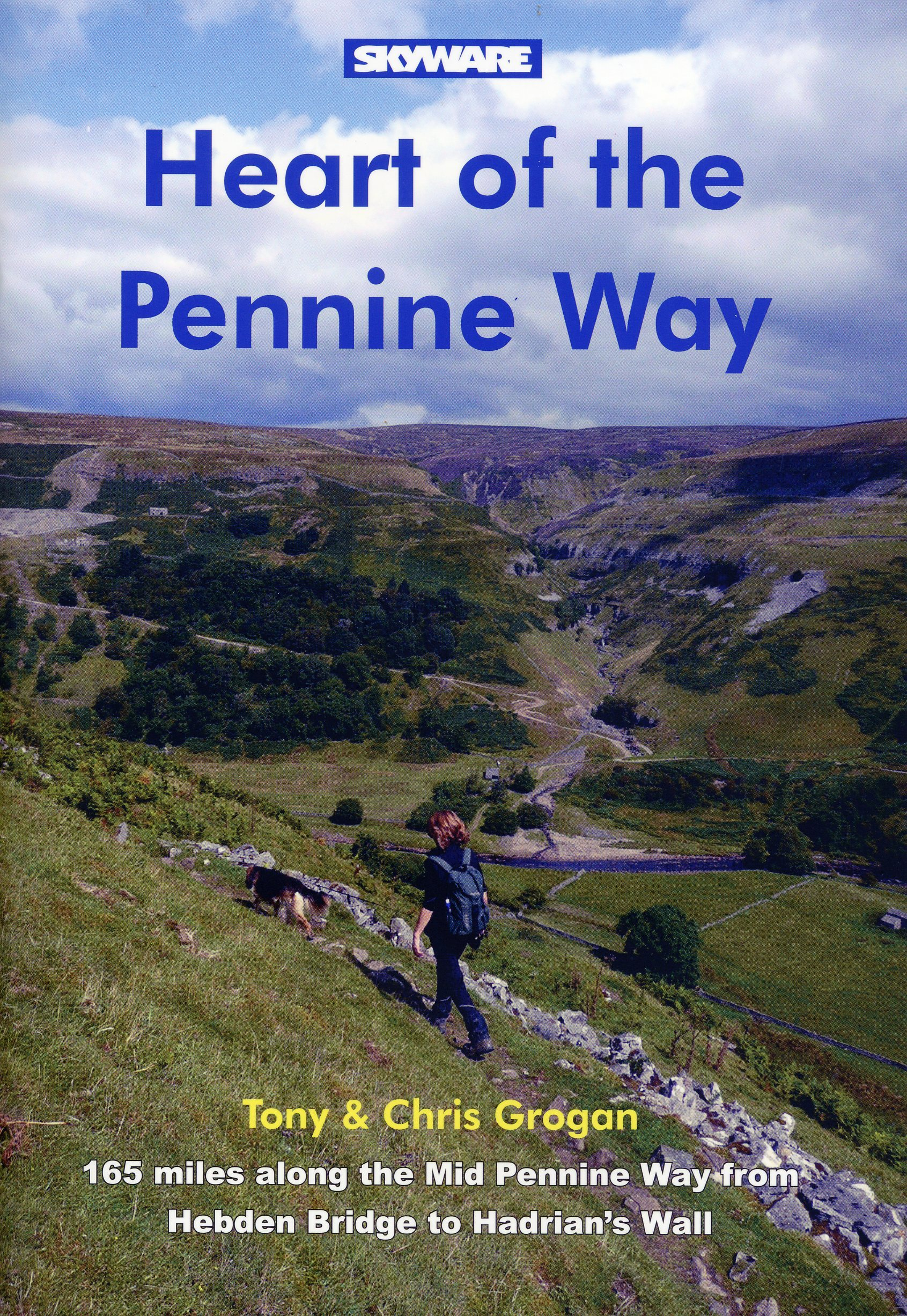 BOOK REVIEW: Heart of the Pennine Way, by Tony and Chris Grogan, £9.99