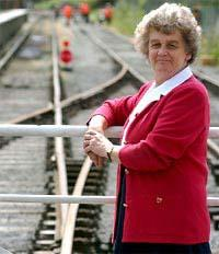 ON TRACK: Ruth Annison, of Hawes, called the first meeting 25 years ago this weekend