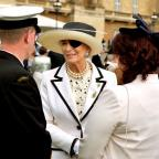 The Westmorland Gazette: Princess Michael of Kent wore a patch on her eye at the garden party