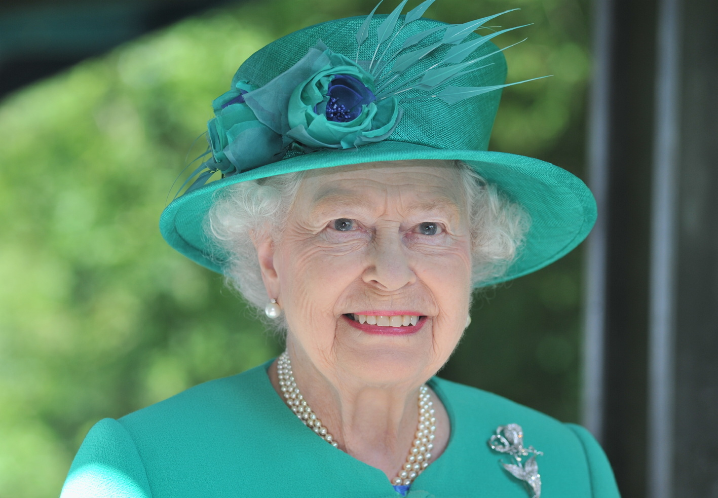 A portrait of The Queen during her visit to the Lake District in July 2013 (Gazette library picture)
