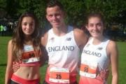 Kendal students represent England at running