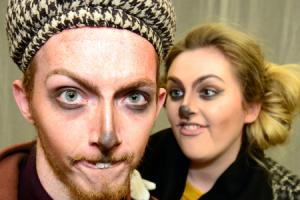 Performing arts students aim to have a ball