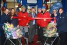 Dave Howarth opens the new Tesco Express store