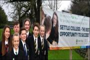 Settle College offer a good education. Picture are, back row, Rosie Laycock, Howard Hill, Bethany Duncan; and front, Leah Stanford, Oliver Drew, Edward Sharp and Amelia Veevers