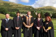 The Sedbergh School Modern Foreign Languages Team of Aidan Rhatigan, T R Bolderstone, Andrew Loughe (Head of Department), Kate Wright and Elizabeth Goodman