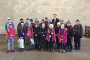 Skipton MP Julian Smith plays host to youngsters from Bentham Primary School