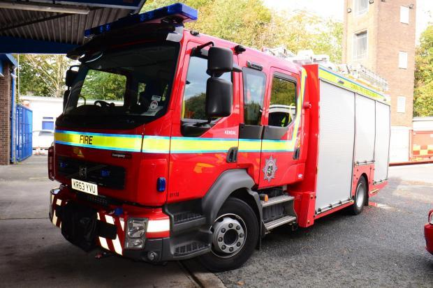 Firefighters called out to an incident in Ambleside